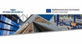 Zmieniają się stacje Kutno i Łowicz – trwa modernizacja linii E20 Warszawa - Poznań