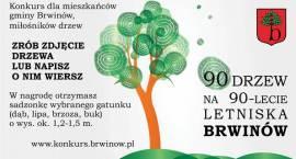 Konkurs 90 drzew na 90-lecie Letniska Brwinów