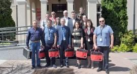 Ukraińscy samorządowcy z wizytą w Brwinowie