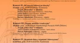 XIII Wiosenne Koncerty Muzyki Organowej i Kameralnej w Pruszkowie