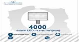 4 tys. LED-ów na kolei
