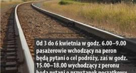 Przed remontem torów PKP: liczenie pasażerów w Brwinowie
