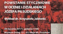 """Zapraszamy do Muzeum Dulag 121 na spotkanie - """"Powstanie styczniowe w ocenie i działaniach Józefa Pi"""