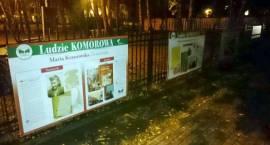 Na ogrodzenie kościoła w Komorowie powróciła wystawa poświęcona historii Komorowa i ich mieszkańców