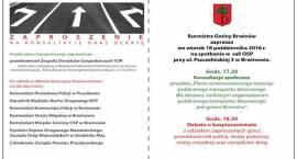 Rozmowy o komunikacji i bezpieczeństwie w gminie Brwinów