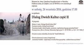 Zaproszenie do Stawiska na Dialog Dwóch Kultur - 24 września