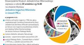 Zapraszamy na Wystawę Jedwabne bogactwo Milanówka w czasach PRL-u.