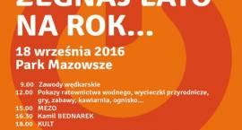 Festyn - Żegnaj lato na rok... w pruszkowskim parku Mazowsze