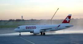 Zaproszono nas - Nowy pasażerski samolot rejsowy Swiss International Air Lines
