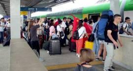 Pierwsze pociągi Kolei Mazowieckich z pielgrzymami wyjechały do Krakowa