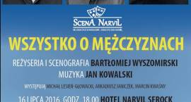 Trzeci spektakl na Scenie Narvil – Wszystko o mężczyznach