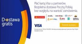 Poczta Polska: darmowa dostawa kurierem po płatności kartą VISA
