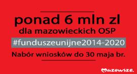 6 mln zł z UE dla mazowieckich OSP
