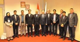 Delegacja prowincji Chorosan z wizytą na Mazowszu