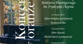 Recitale uczestników XVII Międzynarodowego Konkursu Pianistycznego im. Fryderyka Chopina