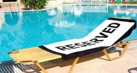 Aż 3/4 europejskich urlopowiczów zirytowanych przywłaszczaniem leżaków
