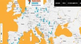 Przez Europę rusza sześć kamperów