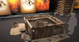 Ekspozycja multimedialna w Muzeum Starożytnego Hutnictwa Mazowieckiego