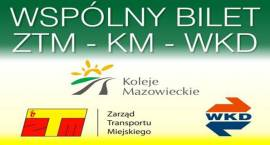 Wspólny Bilet ZTM-KM-WKD w 2014 r.