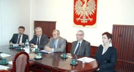 Konferencja prasowa prezydenta Pruszkowa