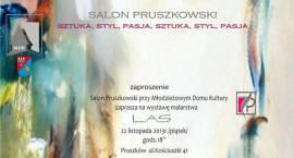 Zaproszenie na wernisaż Pruszkowskiego Salonu Sztuki  pt.