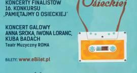 16. konkurs i festiwal Pamiętajmy o Osieckiej - finał i koncert galowy