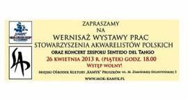 Wernisaż wystawy prac Stowarzyszenia Akwarelistów Polskich