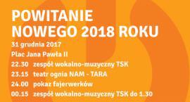Powitanie Nowego Roku 2018 w Pruszkowie