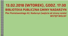 Nadarzyński Ośrodek Kultury zaprasza na spotkanie z dziennikarzem Andrzejem Maracewiczem