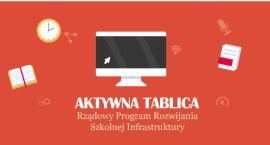 """Gmina Brwinów - dotacja na zakup interaktywnych tablic do szkół - rządowy program """"Aktywna tablica"""""""