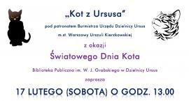 Światowy Dzień Kota w Bibliotece Publicznej w Ursusie