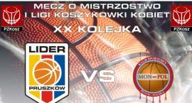 LIDER Pruszków - XX kolejka - Panattoni Europe LIDER Pruszków : Mon-Pol Płock - 17.02.2018//godz.18/