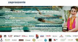 Nasz patronat medialny - Mistrzostwa Polski Aktorów w Pływaniu 2018