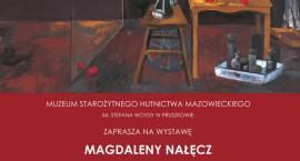 """""""Obrazy muzyczne"""" autorstwa Magdaleny Nałęcz w Muzeum Starożytnego Hutnictwa Mazowieckiego w Pruszko"""