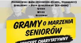 Koncert charytatywny - Gramy o Marzenia Seniorów 21 kwietnia w Stodole