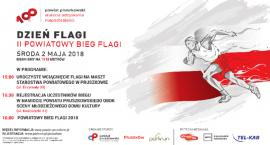 Zapraszamy na II Powiatowy Bieg Flagi 2 maja w Dniu Flagi w Powiecie Pruszkowskim