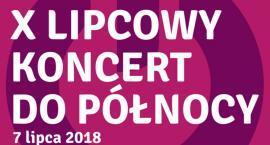Lipcowy koncert do północy w pruszkowskim parku Kościuszki