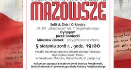"""Powiat pruszkowski zaprasza na koncert """"Mazowsze Patriotycznie"""""""