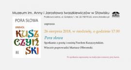 Spotkanie z Pawłem Kuszczyńskim w Muzeum Iwaszkiewiczów w Stawisku