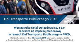 Impreza plenerowa WKD - Dni Transportu Publicznego i Dzień bez samochodu