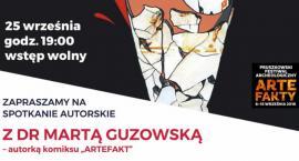 Wieczór autorski z dr Martą Guzowską w Muzeum Starożytnego Hutnictwa Mazowieckiego im. Stefana Woydy