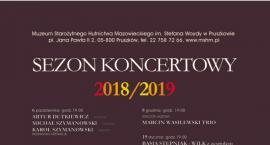 Sezon koncertowy 2018/2019 w Muzeum Starożytnego Hutnictwa Mazowieckiego im. Stefana Woydy w Pruszko