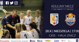 Mecz koszykówki kobiet Panattoni Europe Lider Pruszków - Arka II Gdynia w Pruszkowie