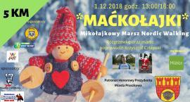 Mikołajkowy Marsz Nordic Walking pod honorowym patronatem prezydenta Pruszkowa Pawła Makucha