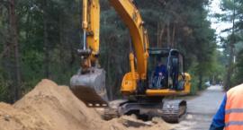 Budowa kanalizacji w Owczarni i Żółwinie w gminie Brwinów