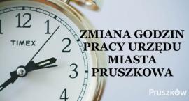 Nowe godziny pracy Urzędu Miasta Pruszkowa