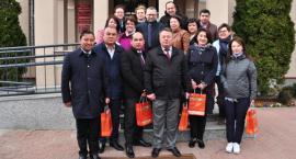 Wizyta gości z Uzbekistanu w gminie Brwinów