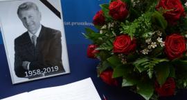 Księga kondolencyjna ku pamięci Wojciecha Gawkowskiego