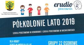 Półkolonie w szkołach gminy Michałowice