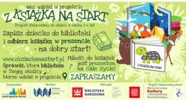 Z książką na start z Książnicą Pruszkowską
